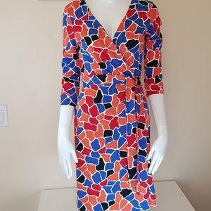DVF New Julian Two Wrap Dress
